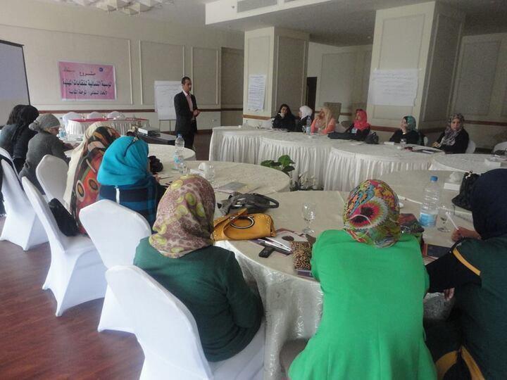 مشروع المؤسسة النسائية فى النقابات المهنية