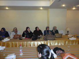 """تقرير اعلامي عن الدورة التدريبية الاولي لمشروع"""" اعداد القيادات النسائية لخوض الانتخابات البرلمانية 2010″"""