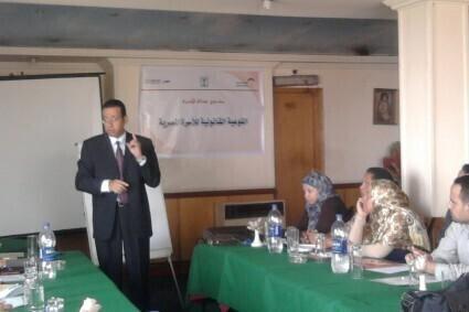 الحقوقيات المصريات تدريب المراة في النقابات المصرية احمد محسن