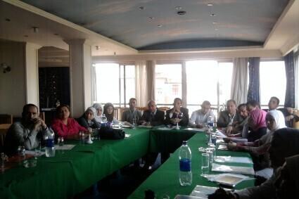 تقرير تحالف منظمات المجتمع المدني المصرية  مارس 2014