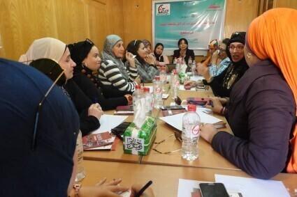 بدأت جمعية الحقوقيات المصريات AEFL   بالتعاون مع هيئة الامم المتحدة للمساواة بين الجنسين UN Women