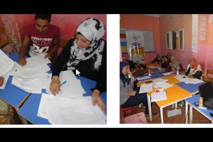 الدورة التدريبية الثانية من مشروع شارك و استهدفت تحليل البيانات